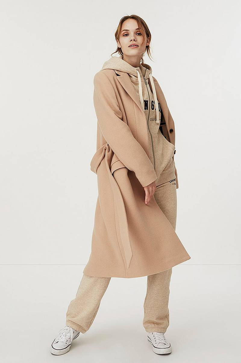 Ullkåpe Heather Coat