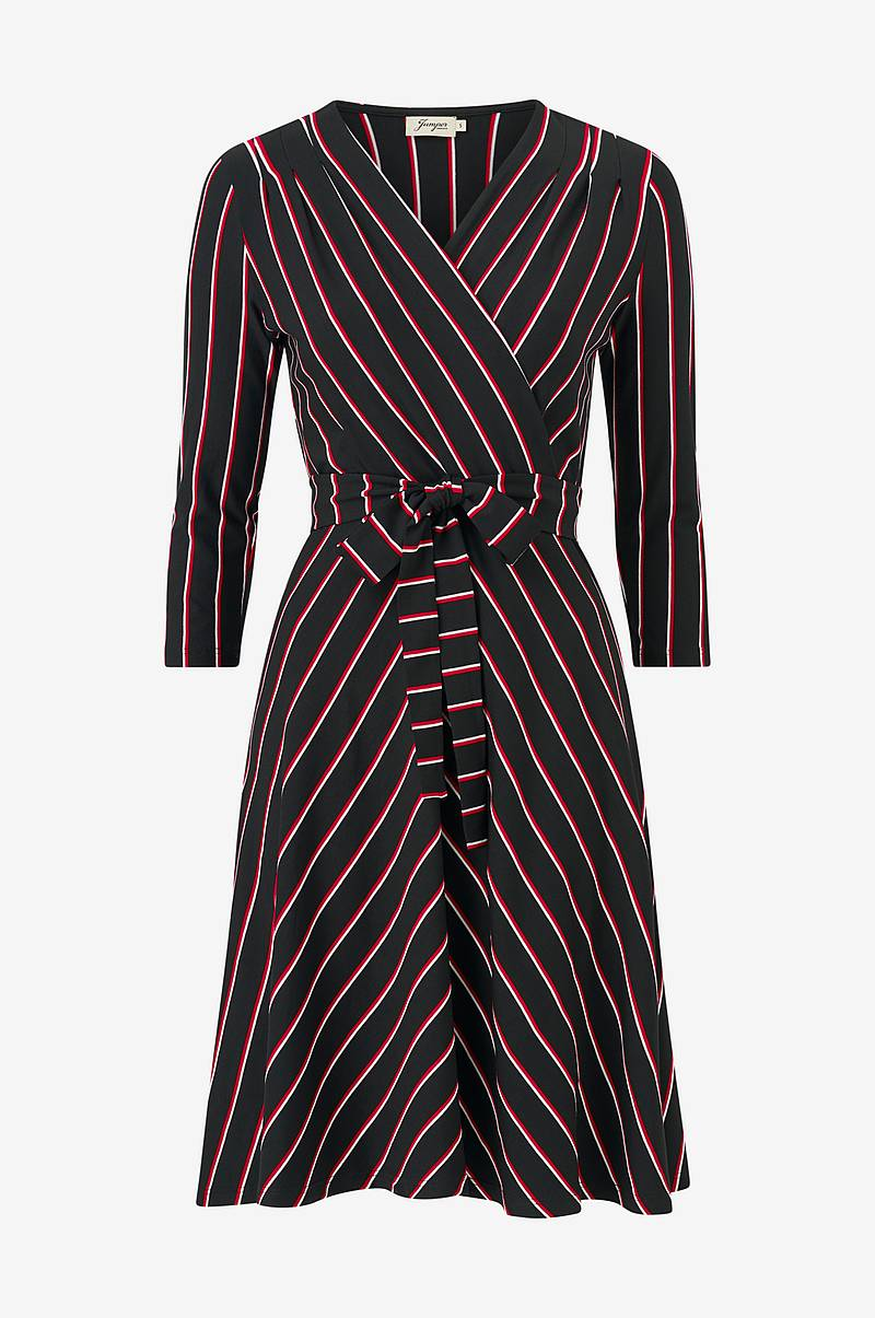 Kjole Celia Stripe Jersey Dress