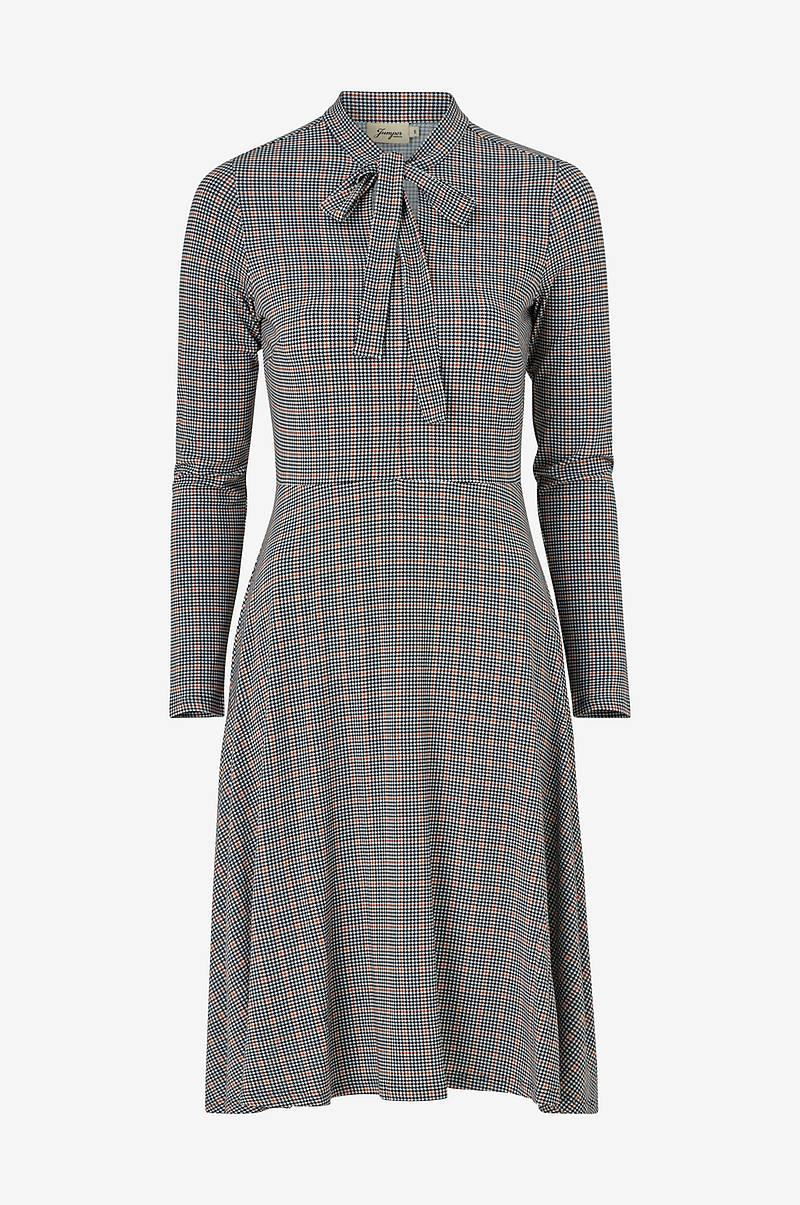 Kjole Elvy Check Jersey Dress