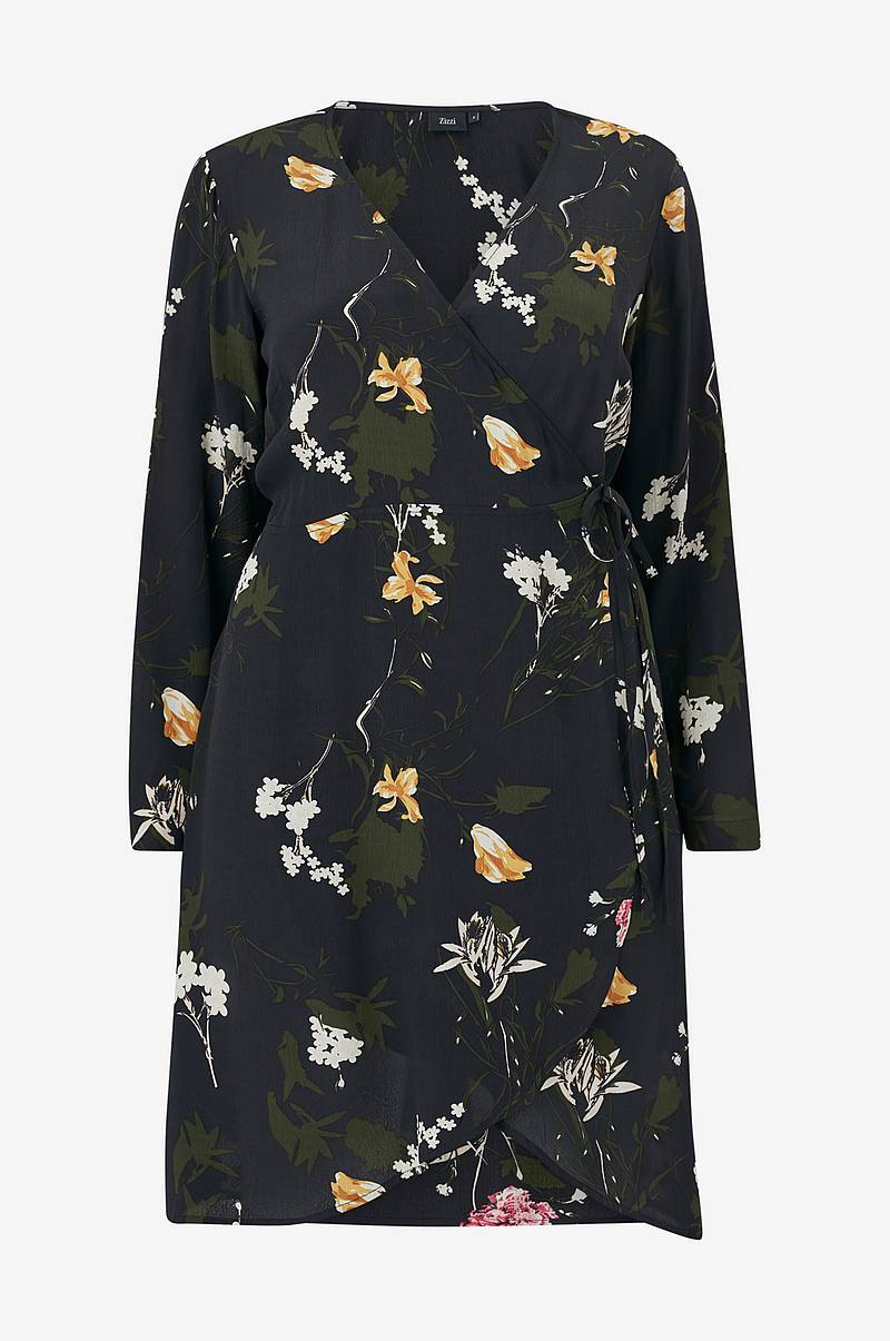 Kjole eRose L/S Wrap Dress