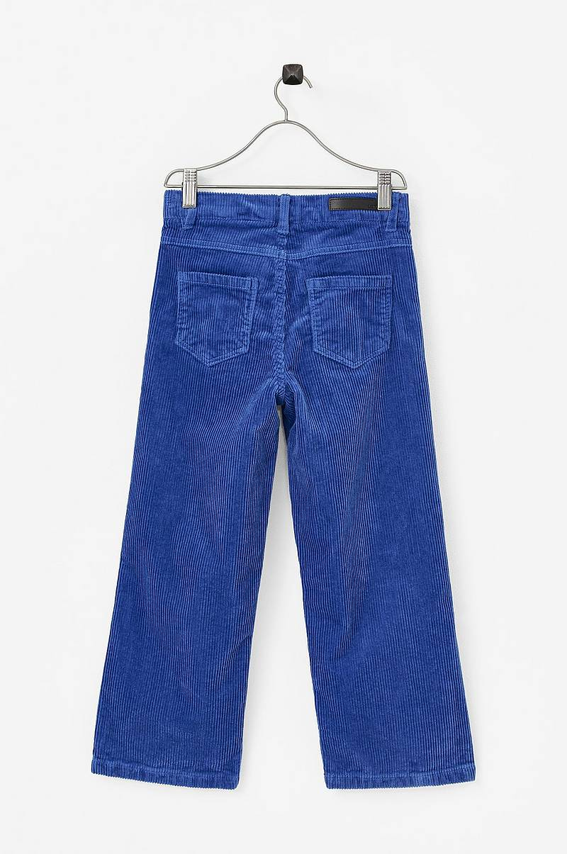 Manchesterbyxor nlfBanicka HW 7/8 Wide Pant