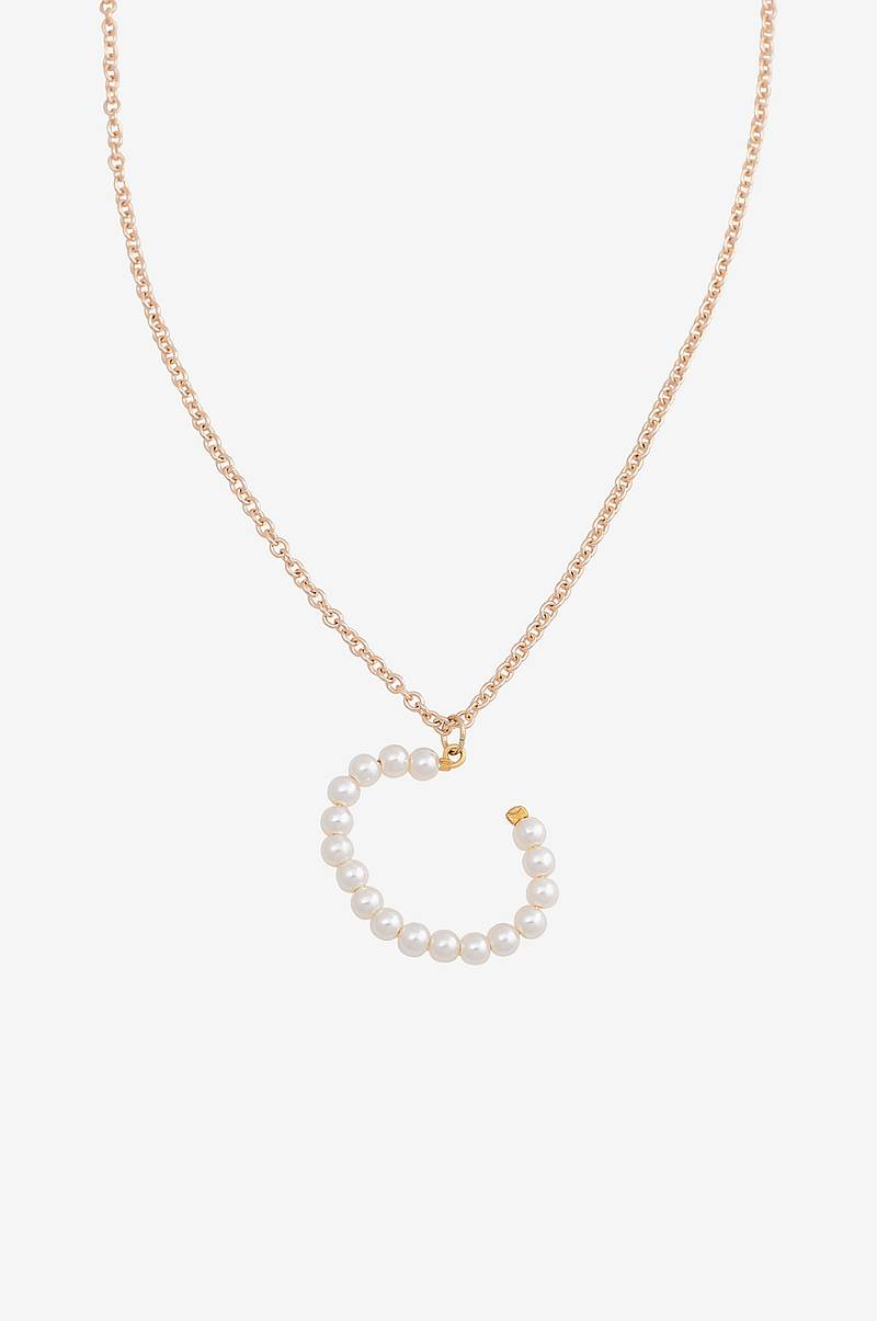Halskæde vmPearl Letter Necklace