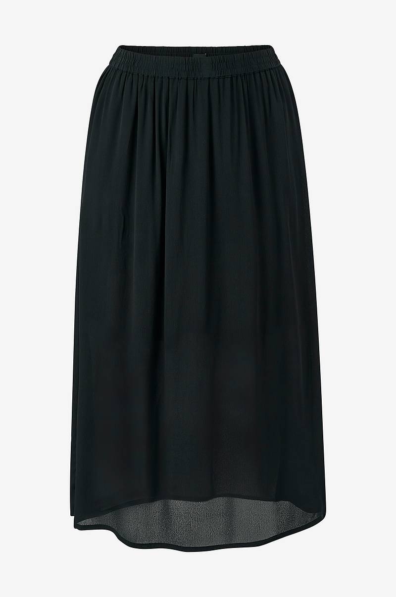Kjol xDasy Long Plain Skirt