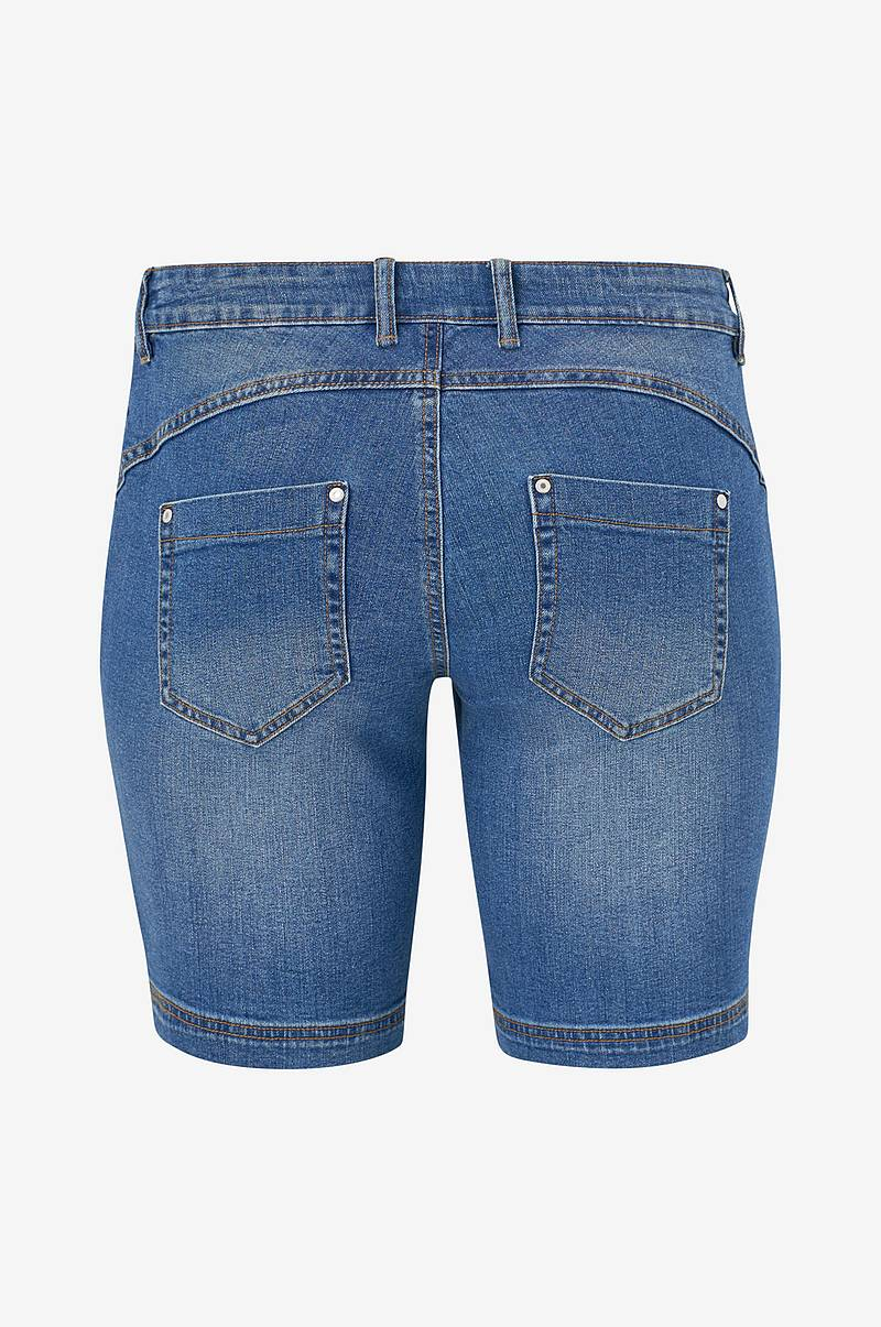Denimshorts Regular Fit Straight Leg