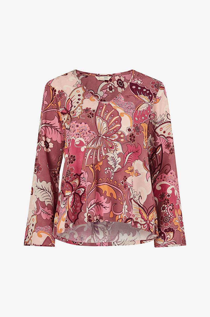 Pusero Puzzle Me Together Blouse