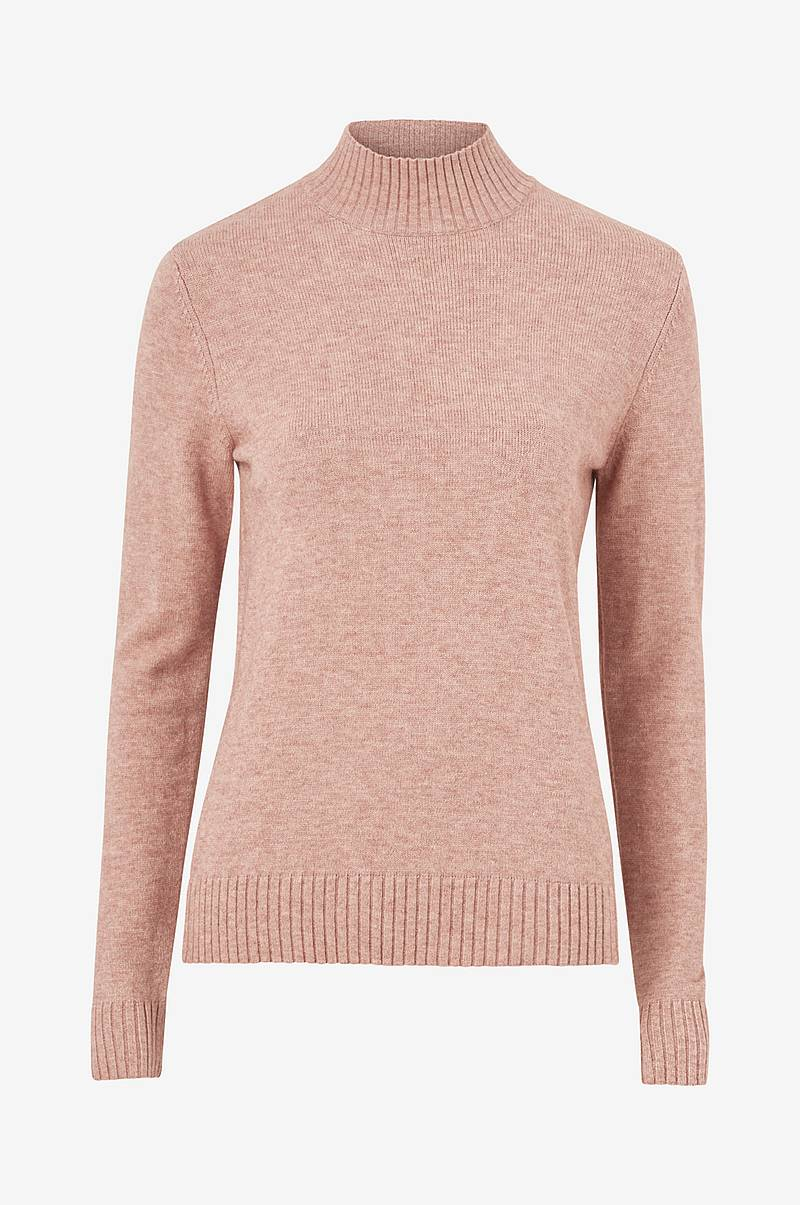 Genser viRil L/S Turtleneck Knit Top Fav