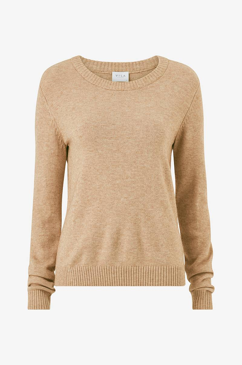 Neulepusero viRil L/S O-Neck Knit Top