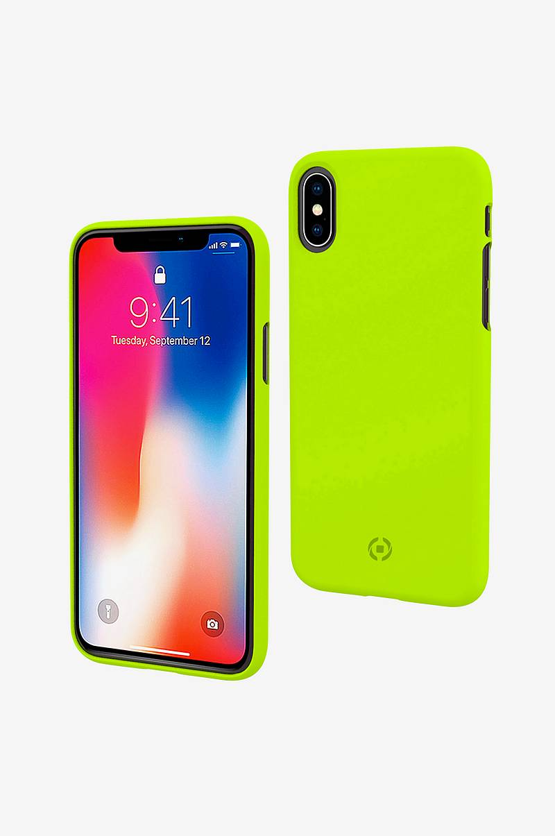 Shock Cover iPhone X/Xs Keltainen