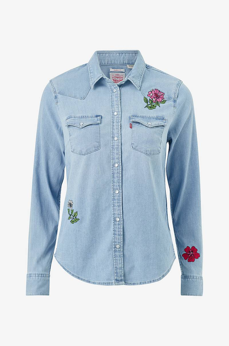 Denimskjorte Ultimate Western Hazy Blues