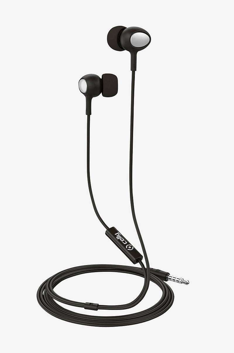 UP500 Stereoheadset In-ear Musta