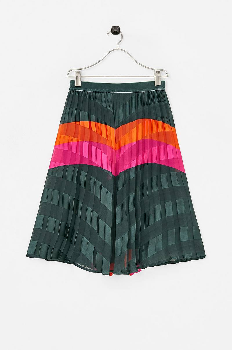Hame nkfNamile Pleat Long Skirt