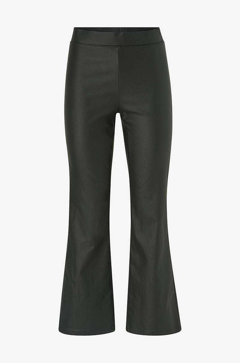 Bukser viCommit Coated HWSL Cropped Pant