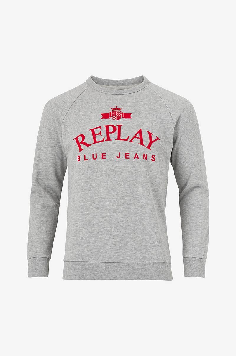 bb178db6abe7 Sweatshirt med borstad insida