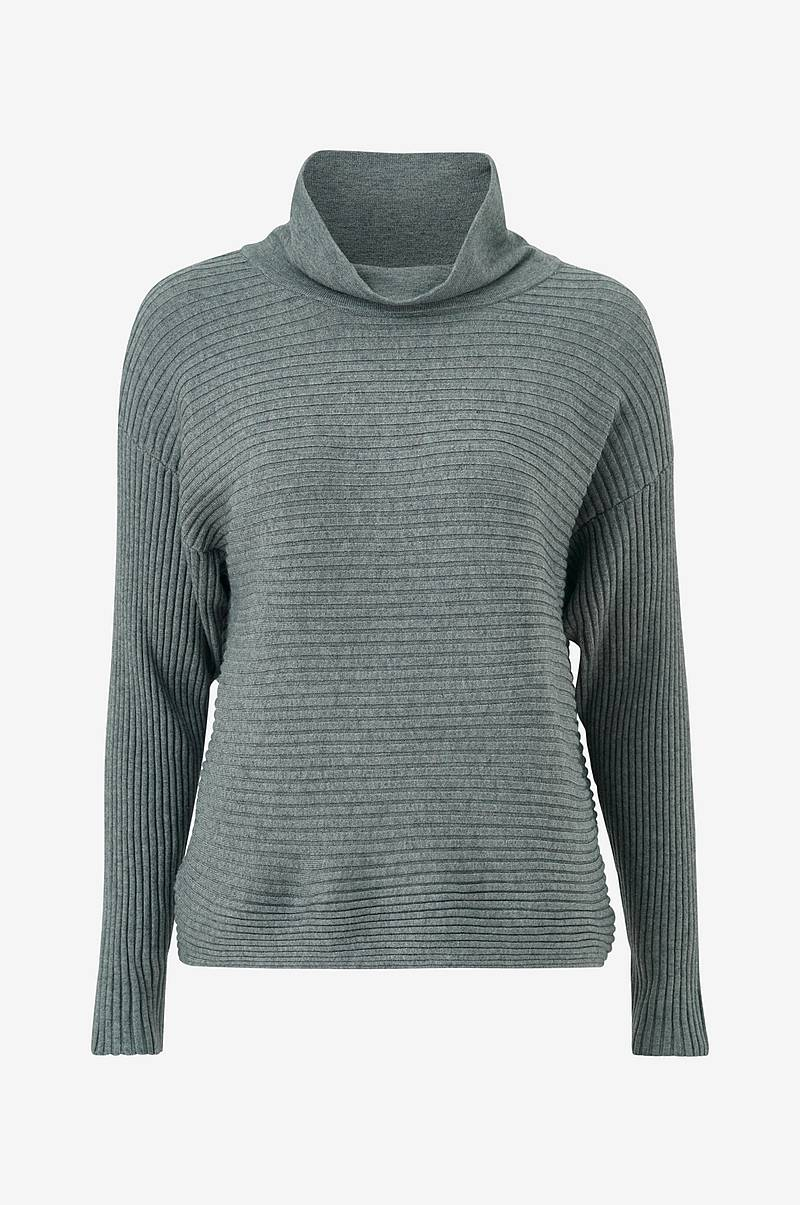 Rullekravebluse viOliv Knit High Neck L/S Top