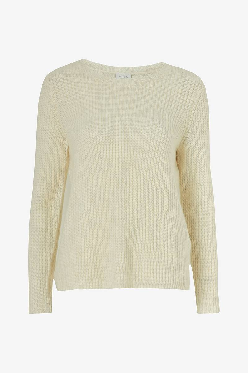 Neulepusero viGood O-neck Knit Top