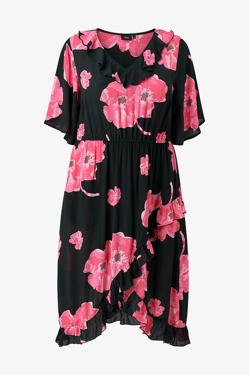 Kjole xAnnika Blk Wrap Dress