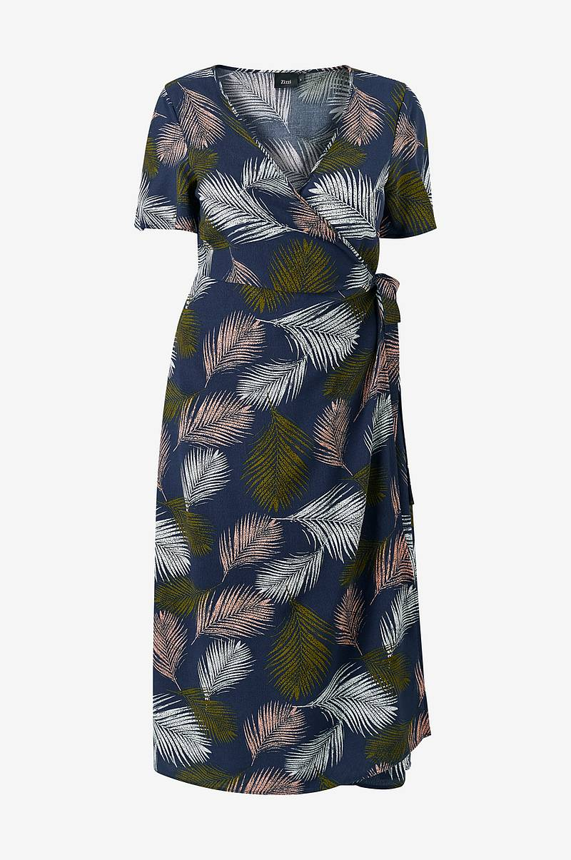 Omslagskjole mCroco S/S Wrap Dress