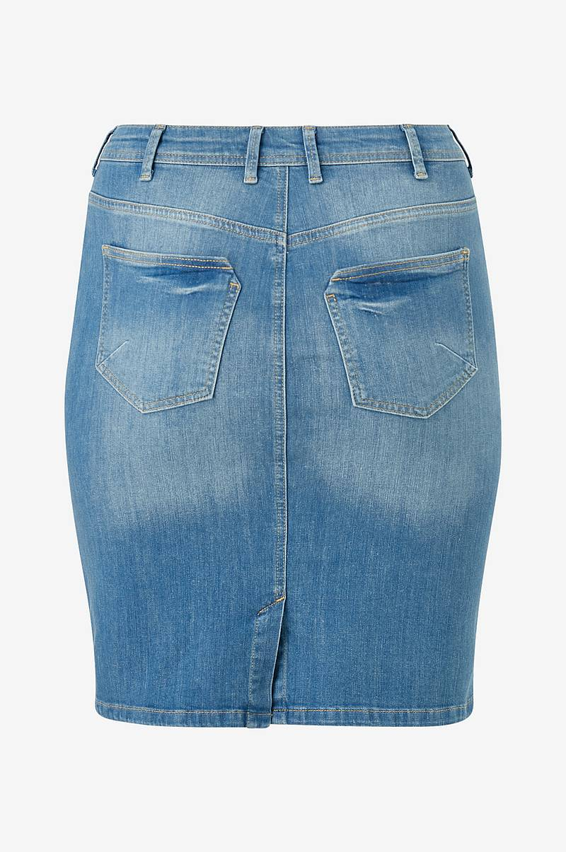 Jeansskjørt jAnnabel Below Knee Skirt