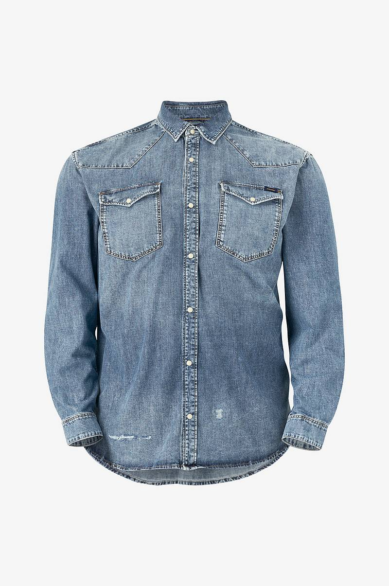 Denimskjorte jjiJames jjShirt CJ 090 PS