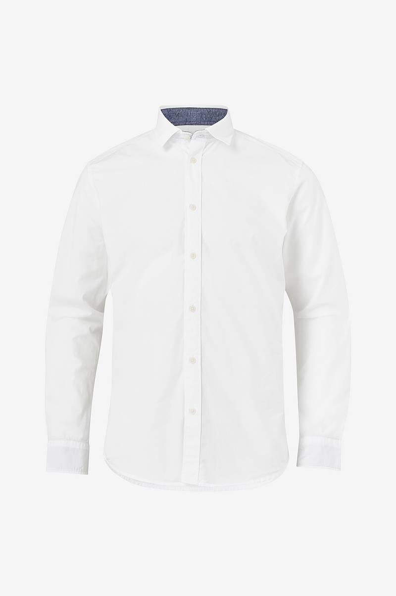 Paita slhSlimmark-Washed Shirt LS W Noos, slim fit