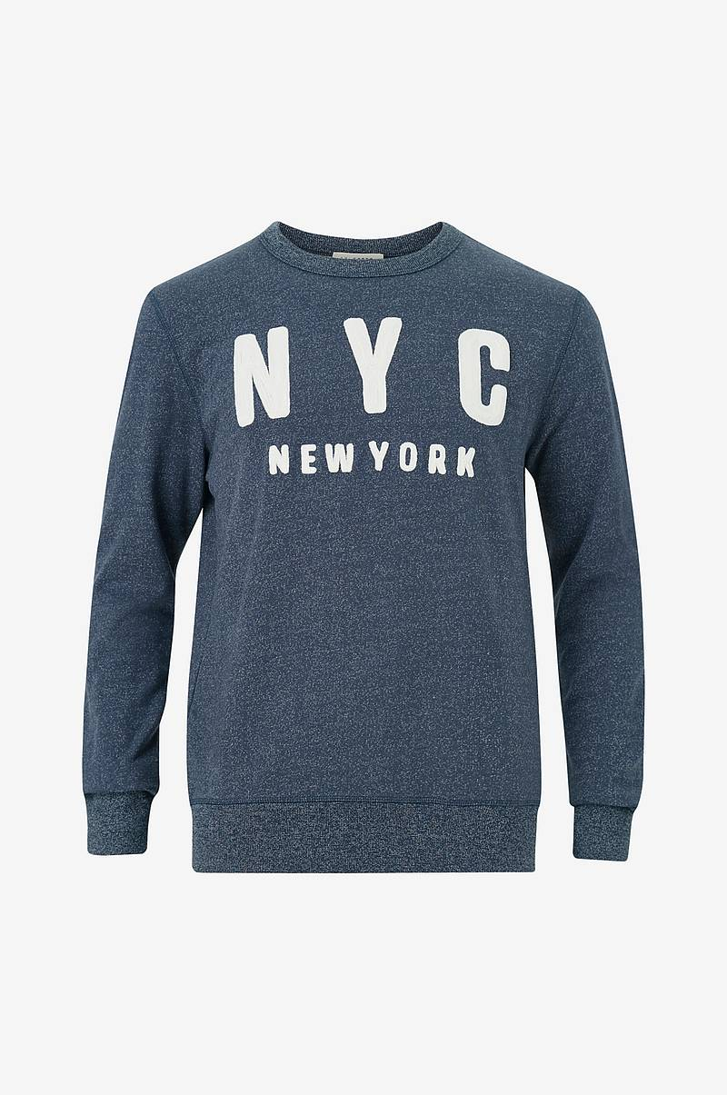 Sweatshirt slhSimon City Crew Neck Sweat W