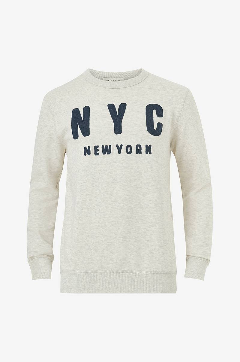 Collegepusero slhSimon City Crew Neck Sweat W