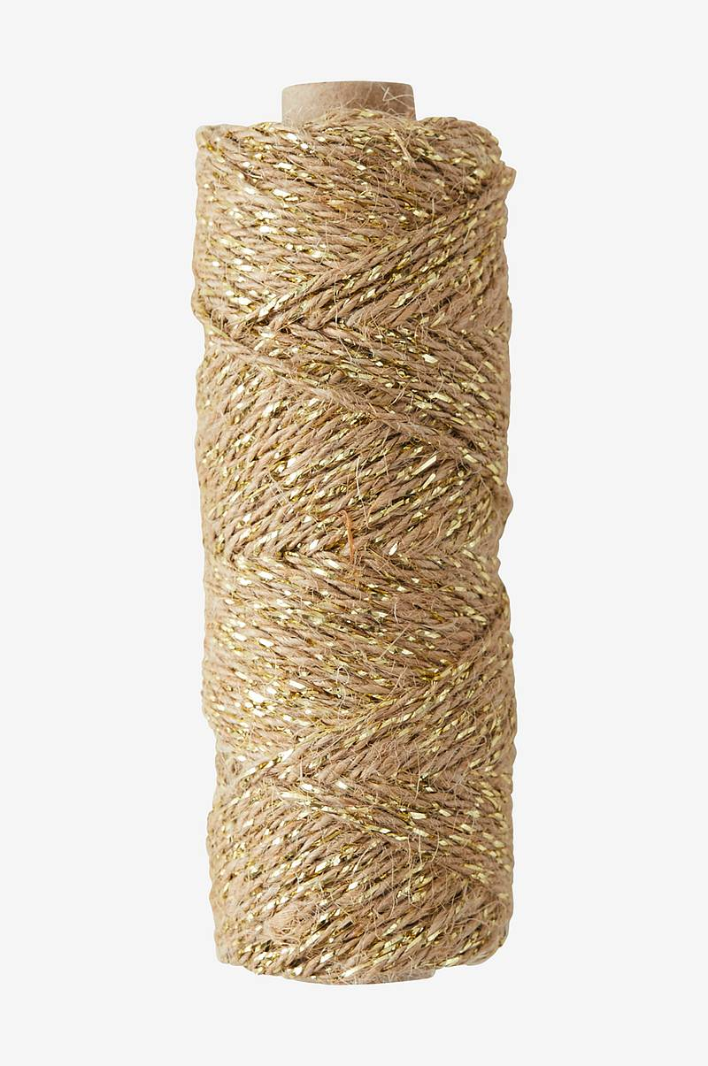 Presentsnöre Flax Cord Ribbon Deluxe 50 meter