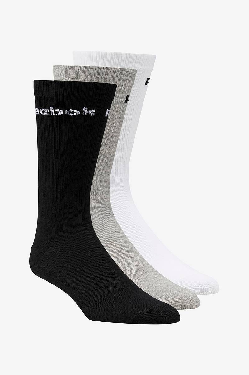 Sportstrumpor Active Core Crew Socks 3-pack