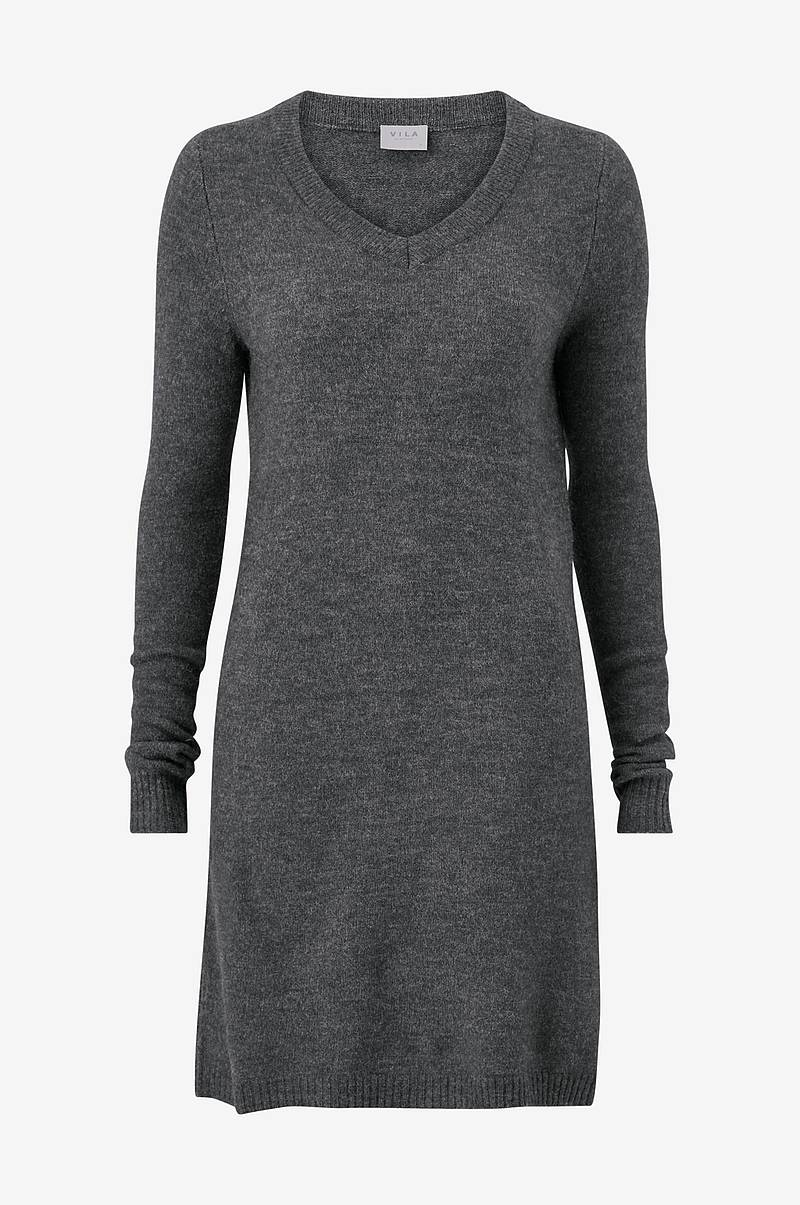 Mekko viVikka L/S Knit V-neck Dress