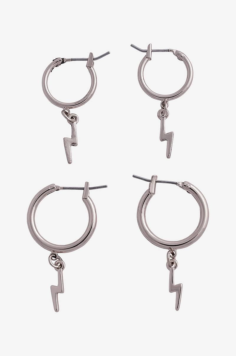 Øreringe pcGaby Hoop Earrings, 2-pak