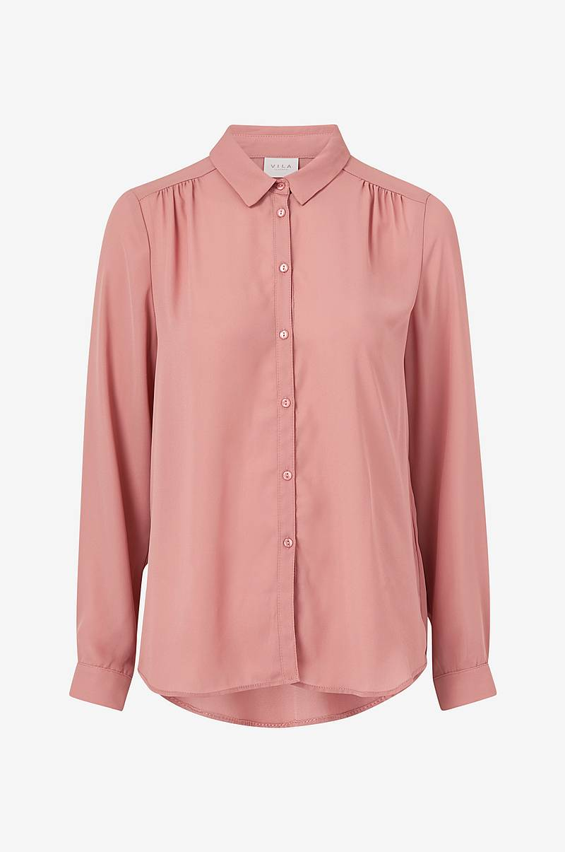 Bluse viLucy L/S Button Shirt