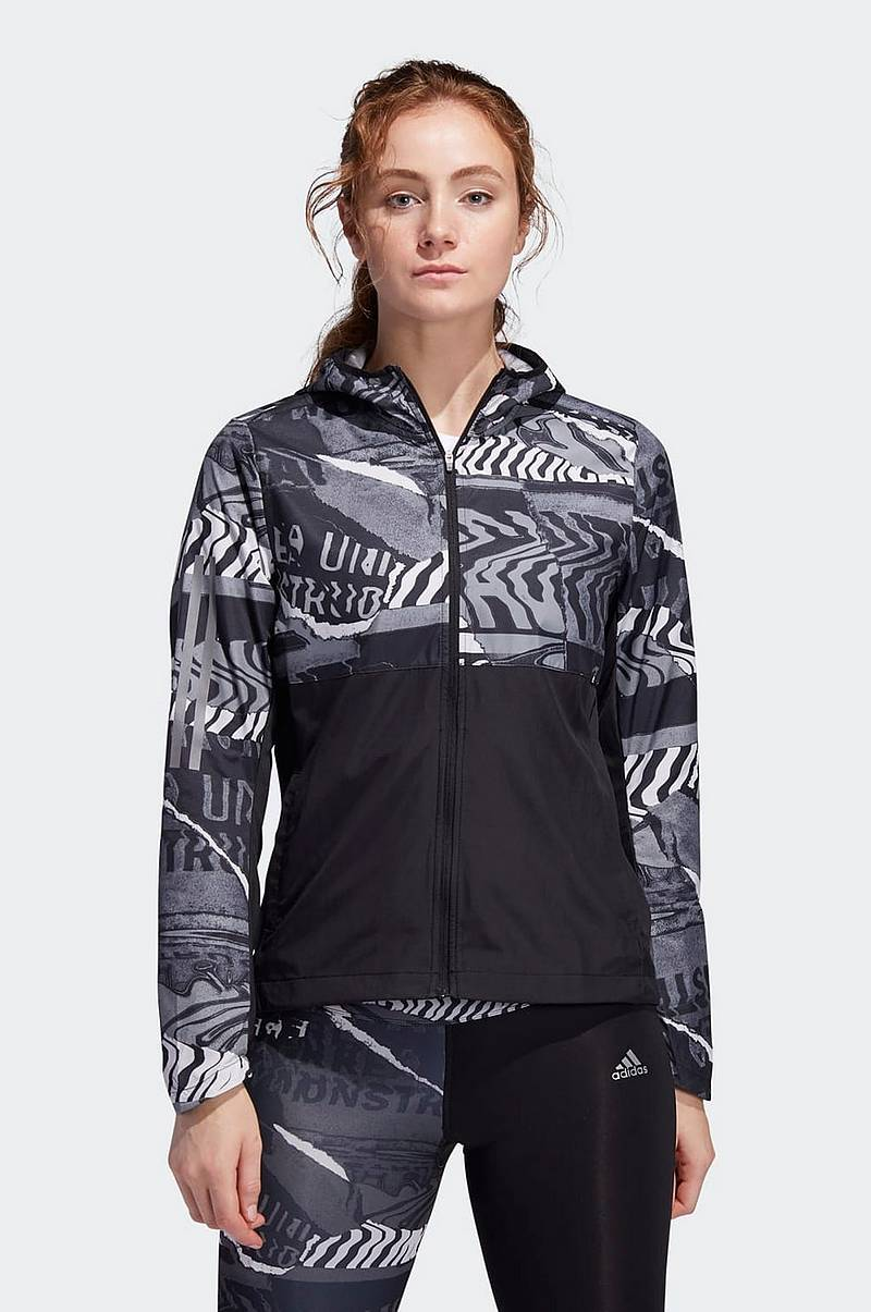 Løbejakke Own The Run City Clash Wind Jacket