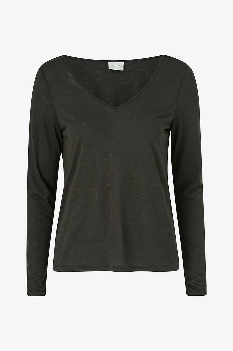 Top viNoel L/S V-neck