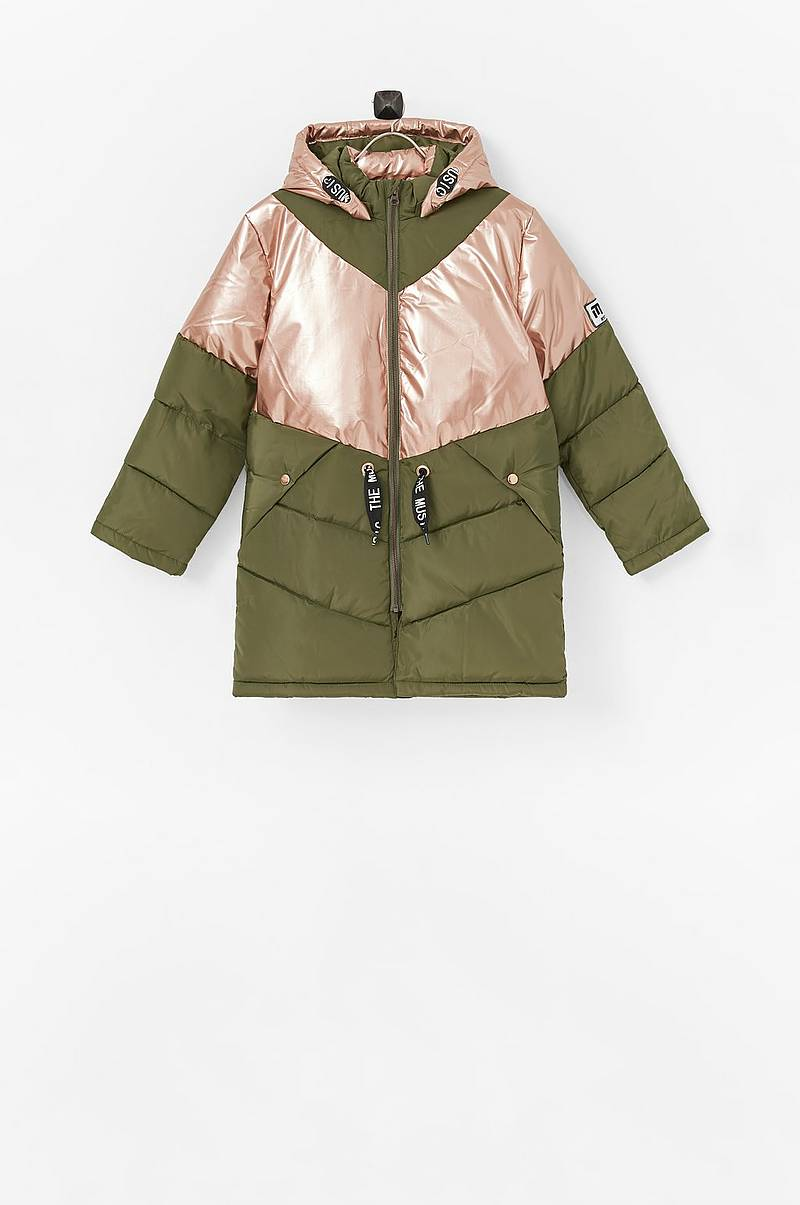 Jakke nkfMusic Long Puffer Jacket