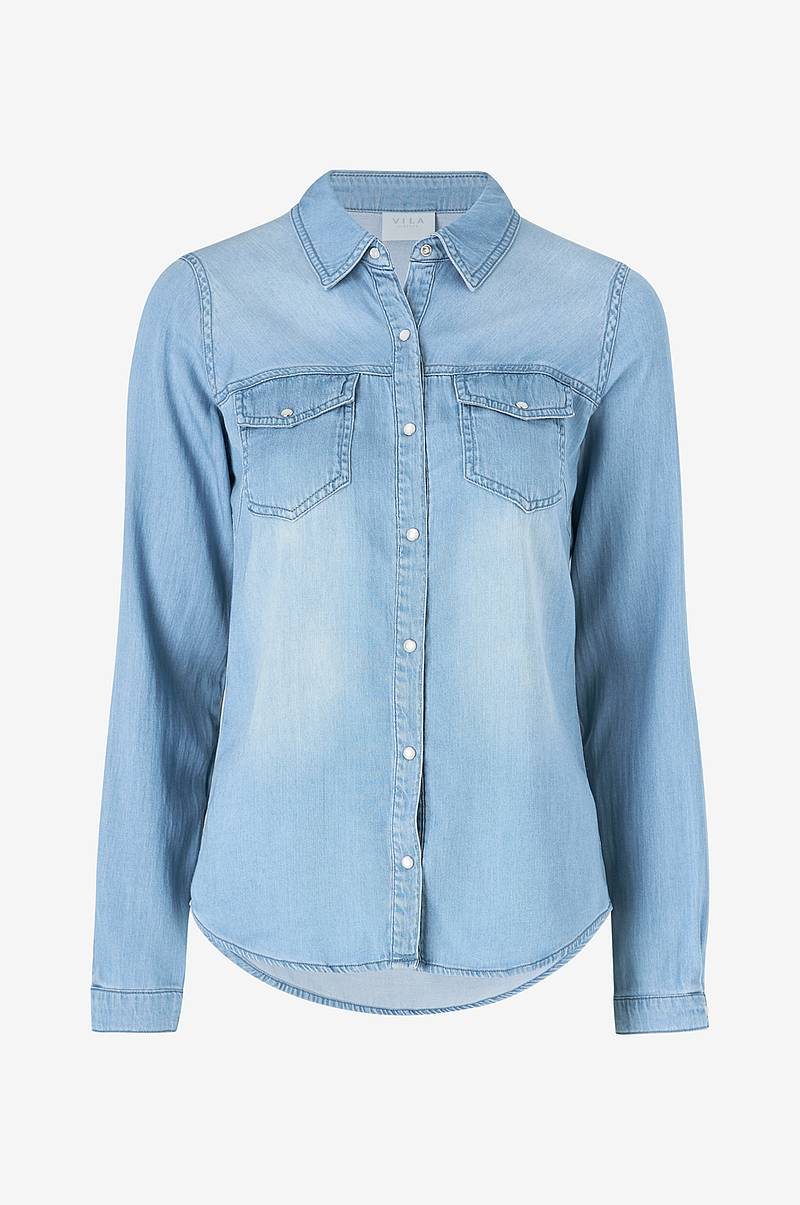 Denimskjorte viBista Denim Shirt