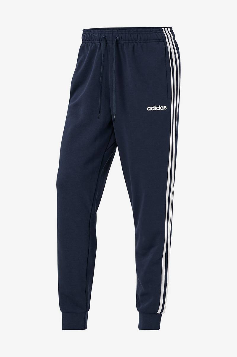 Collegehousut Essentials 3-stripes Tapered Cuffed Pants