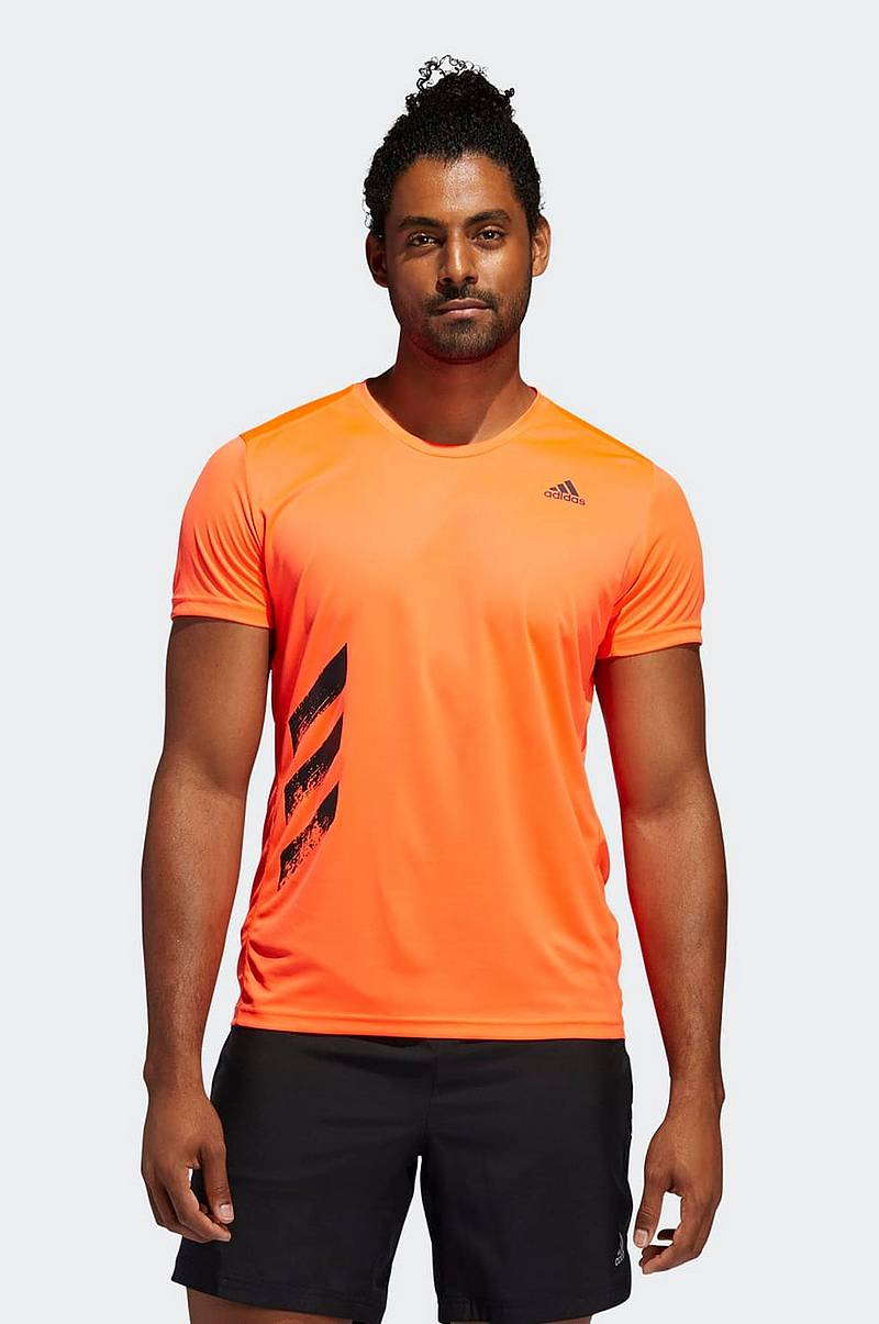 Löpar-t-shirt Run It 3-stripes PB Tee