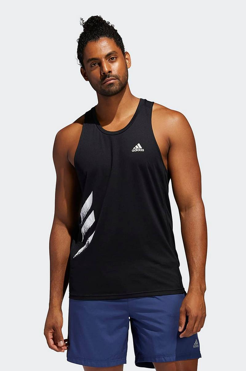 Juoksutoppi Own The Run 3-stripes PB Singlet