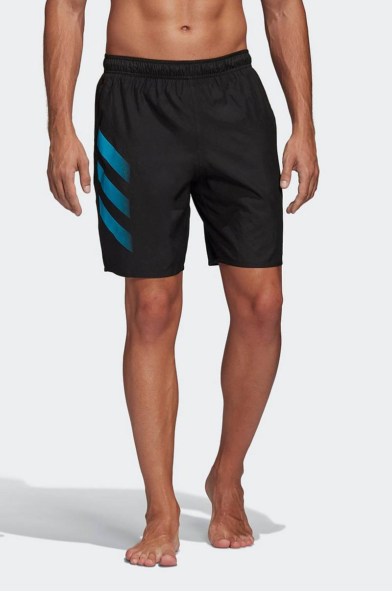 Uimashortsit Bold 3-stripes CLX Swim Shorts