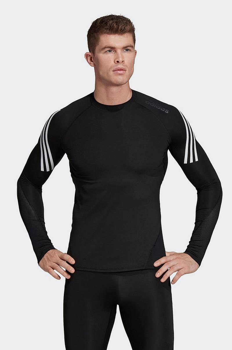 Trænings-T-shirt Alphaskin Sport + 3-stripes