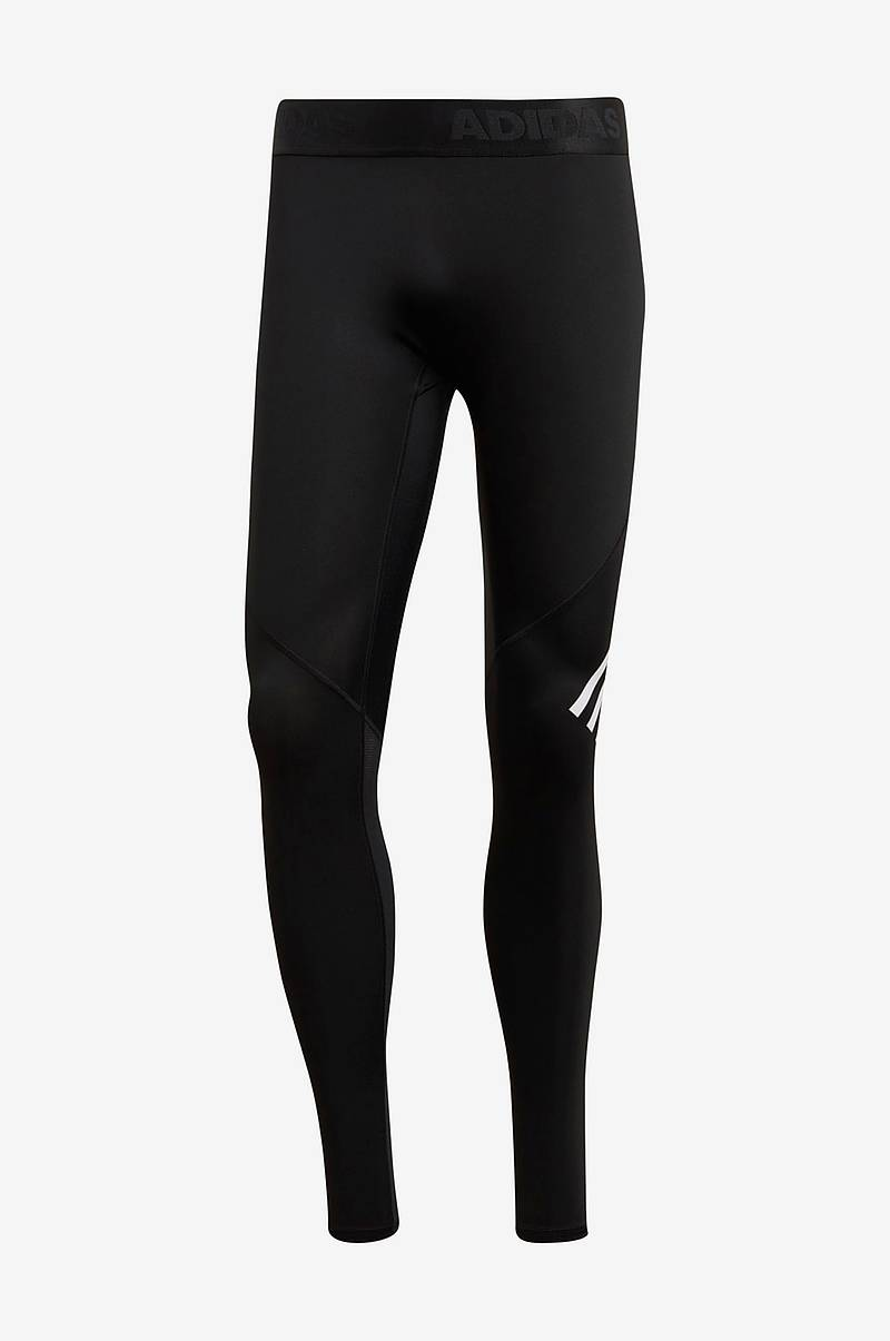Träningstights Alphaskin Sport + Long 3-stripes Tights