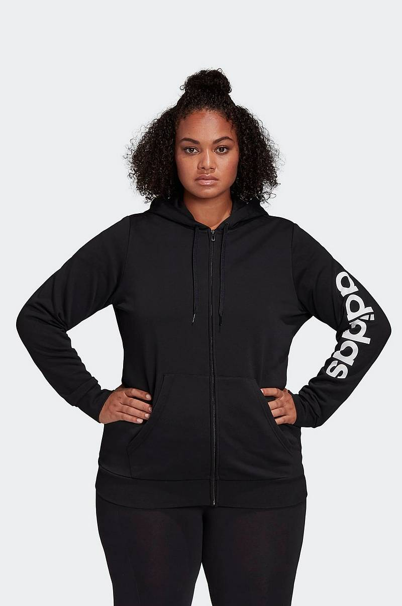 Træningstrøje Essentials Inclusive - Sizing Hooded Track Top Plus