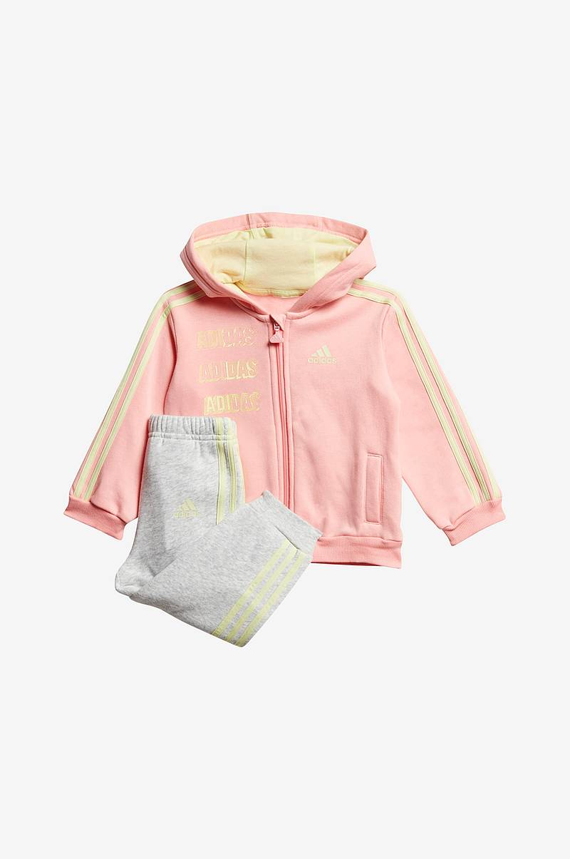 Setti Hooded Fleece Jogger, collegetakki ja housut