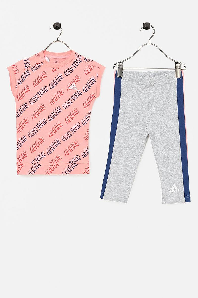 Leggings + lång topp I Tight Set G