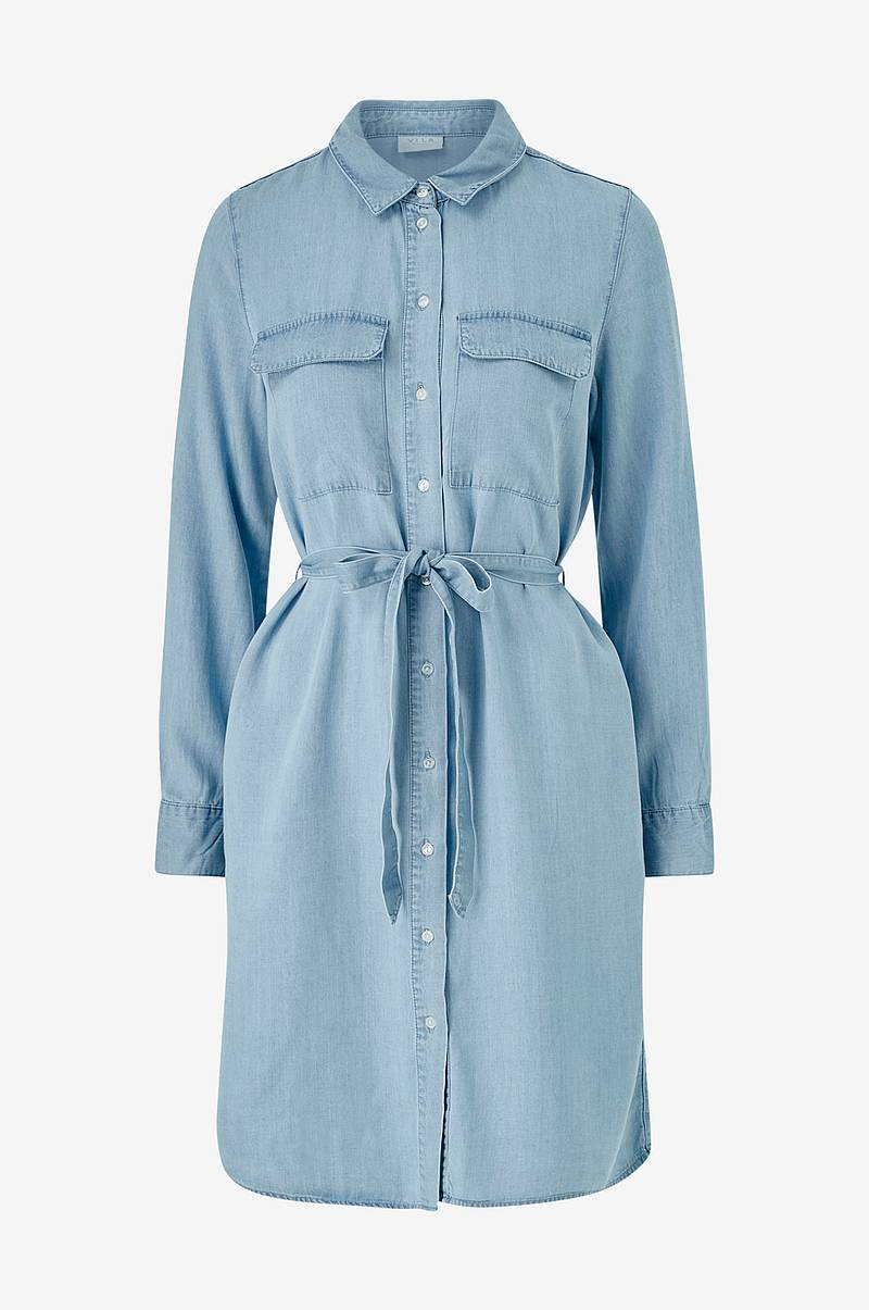 Skjortekjole viGia L/S Shirt Dress