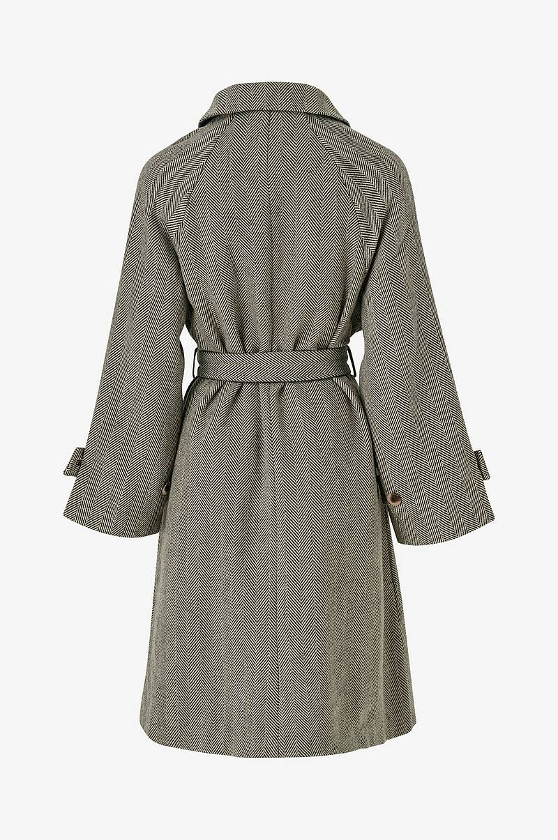 Frakke viSelda Wool Long Coat