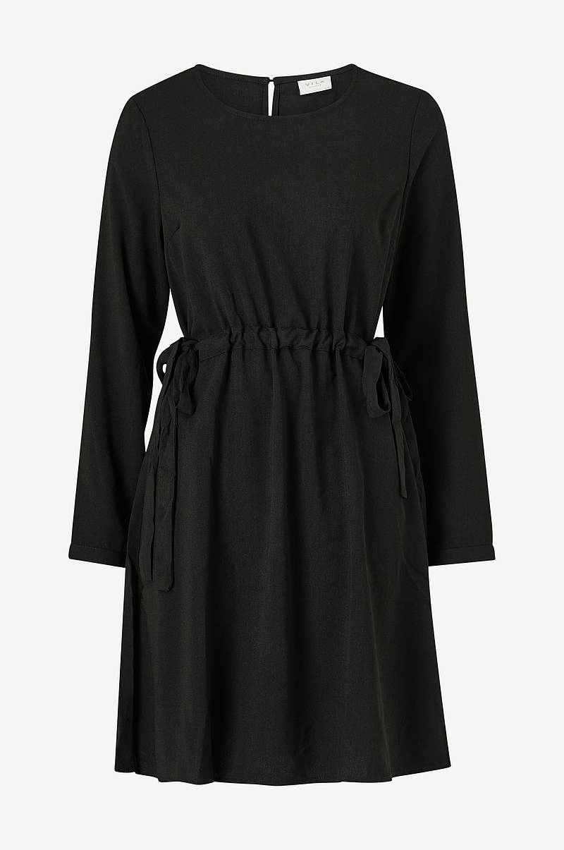 Kjole viSarina L/S Tie Dress