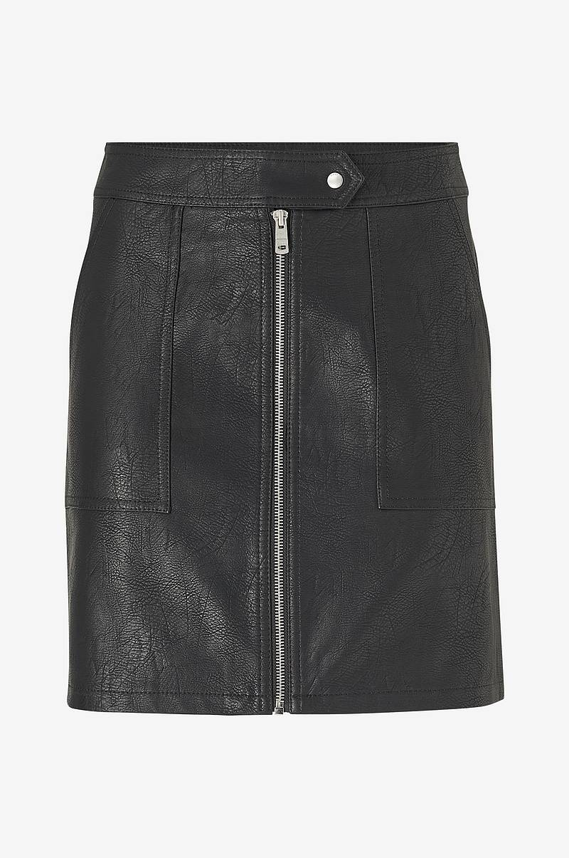 Kjol onlErica Faux Leather Skirt