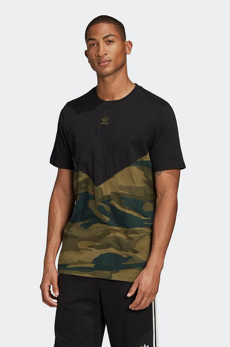 T-shirt Camouflage Block Tee