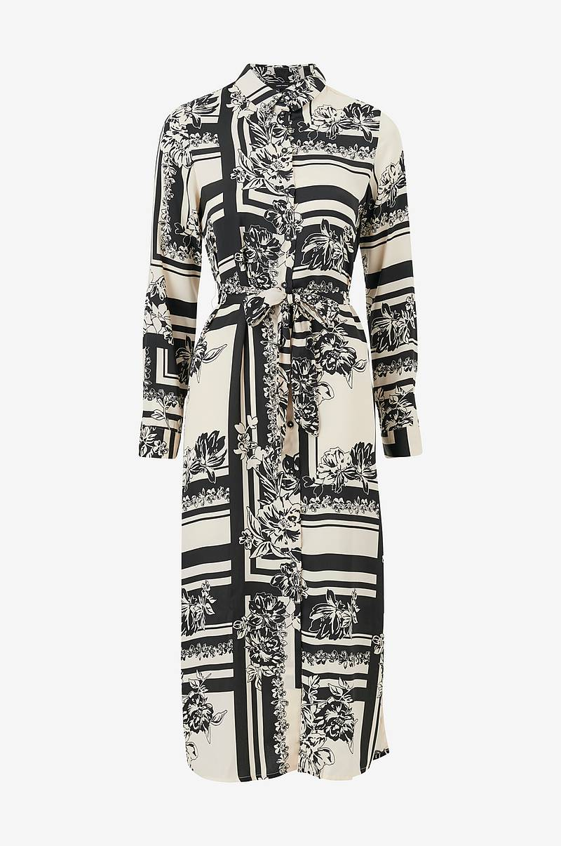 Kjole vmMimi LS Long Shirt Dress